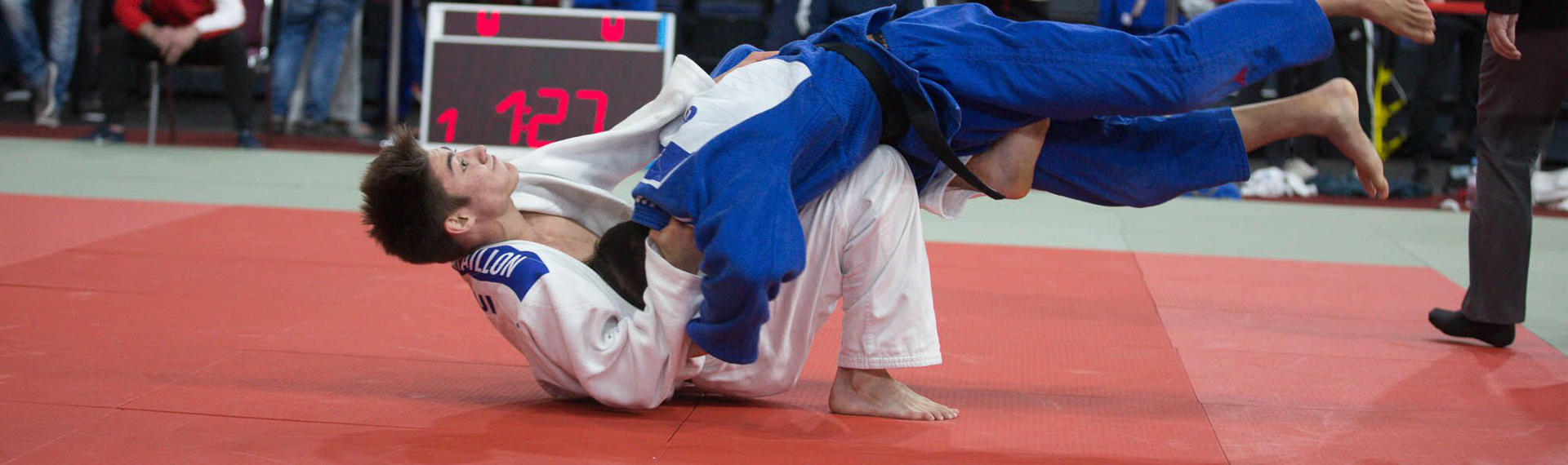Alexis Bataillon, judo : banque privée Bonhôte