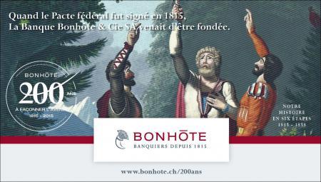 Publicité 1/6 - Notre histoire en six étapes : 1815 – 1858